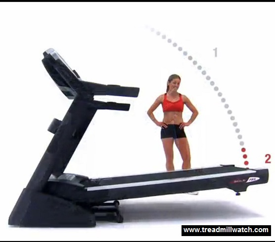 sole f80 foldable treadmill step 3